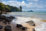 Ao Nang Beach rock